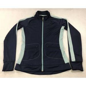 ALO Yoga CoolFit Track Jacket M Read